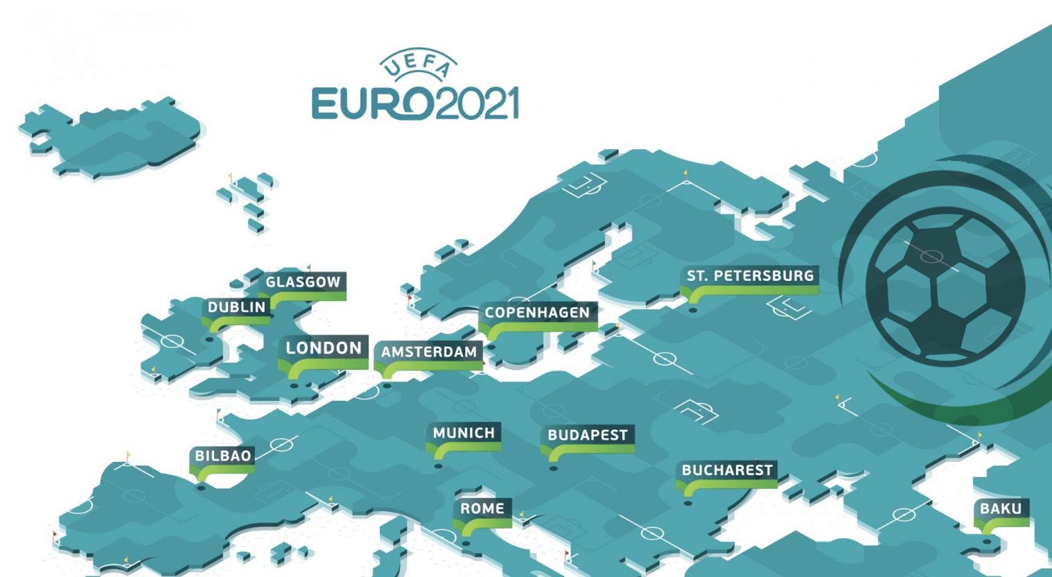 Euro 2021 Speelsteden